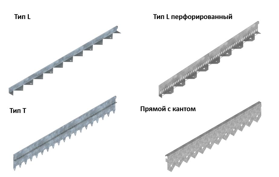 Разновидность металлических декоративных бордюров от Стандартпарк